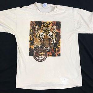 Vintage • 1994 Endangered Species Tiger Tee
